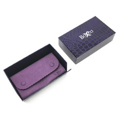 LSQP2 High Quality Charisma Button Pouches with Outer Box