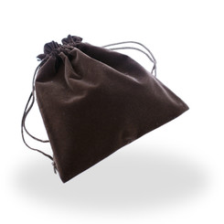 E-SQP9 High Quality Faux Suede Large Pouch