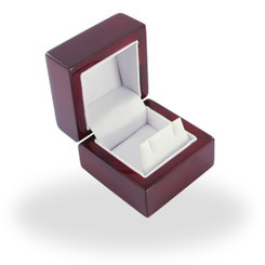 2202 High Quality Laquered Wood Earring Box