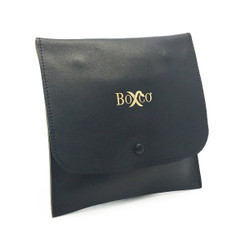 LSQNLT8- Custom Leather & Suede Pouch
