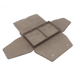 LSDFL-E2 Custom High Quality Leather & Charisma Suede Multi Earring Display Folder