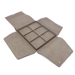 LSDFL-UT6 Custom High Quality Leather & Charisma Suede Multi Utility Display Folder