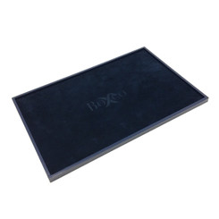 TRY305-UT Custom Presentation Tray Covered with Leatherette & Charisma