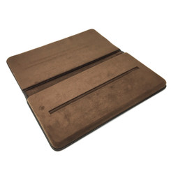 TRYBK300-LTHR Custom Presentation Tray Covered with Leather and Chamel