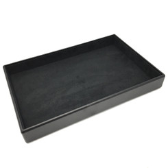 TRY-352-LTHR Custom Presentation Tray Covered with Leather & Charisma