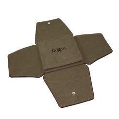 LSFL11 Custom High Quality Leather & Charisma Suede Pin Folder
