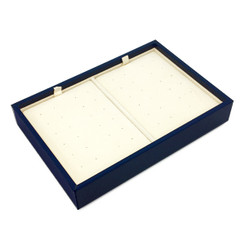 LTRSS Custom High Quality Leatherette & Silsuede Stud Tray