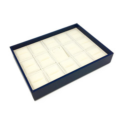 LTRSS Custom High Quality Leatherette & Silsuede Multi-Inserts Tray