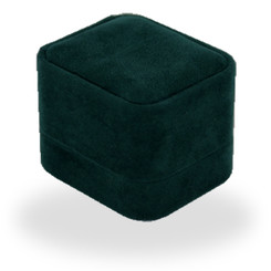 C800 Series High Quality Italian Faux Suede Ring Box