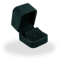 C802 High Quality Italian Faux Suede Small Earring Box