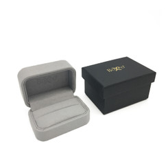 1805 Custom High Quality Charisma Suede Double Ring Box