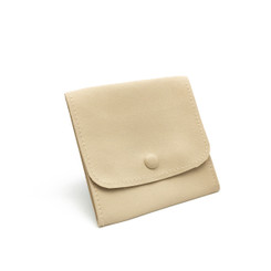 LLRP3 High Quality Faux Leather Button Pouches