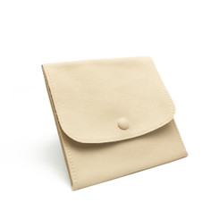 LLRP4 High Quality Faux Leather Button Pouches