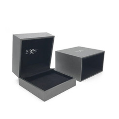 5314 High Quality China Suede and Leatherette Earring and Pendant Box