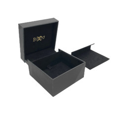 8509 High Quality China Suede and Leatherette Earring and Pendant Box