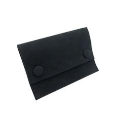ST-LSQP2 High Quality Chamel Suede Button Pouch