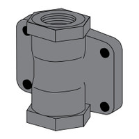 Light Weight Metering Valve Body