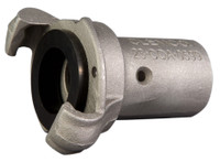 "Clemco CQA-1/2 Aluminum Quick Coupling for 1-3/16"" OD Hose"
