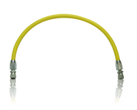 Clemco Air Hose, 3/16 x 18 inch, Coupled