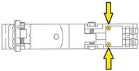 Clemco RLX Remote Control Round Head Screw, 8-32 x 1 inch