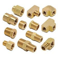 Brass Adaptor, 1/8 inch NPS, MJIC