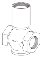 Clemco 1-1/2 inch Inlet Valve Body