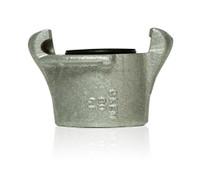 Clemco CFA-1/2 Aluminum Coupler, for 1/2 inch threaded nipple