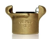 Clemco CF Brass Coupler for 1-1/4 inch threaded nipple