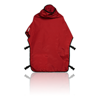 Clemco 04435, Cape, APL 60, Red w/ Red Inner Collar