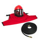 Clemco 22082, Apollo 60 LP Helmet w/ CFC, 50ft Air Hose, sandblasting helmet