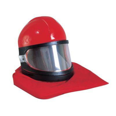 Clemco 10514, Apollo 60 HP Helmet w/ CAT, 50ft Air Hose, CPF 20, sandblasting helmet