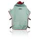 Clemco 23818, Cape, APOLLO 600, Silver-Grey w/ Red In-Collar