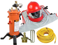 Clemco Apollo 600 HP DLX Supplied Air Respirator with CFC, 50 ft. Hose and CPF-20 Filter