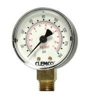 Clemco CPF-20 and CPF-80 Pressure Gauge