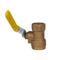 """1/2"""" Brass Ball valve"""