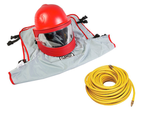 Clemco Apollo 600 HP DLX Supplied Air Respirator with 50' Hose