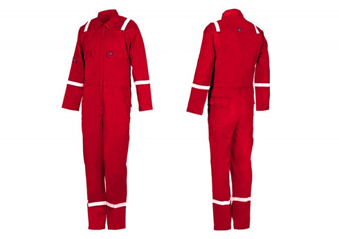 Fire Retardant COVERALL - F240AS-88/12 Red