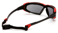 Pyramex Highlander PY-SBR5020DT Gray Anti fog-Black Red Frame
