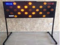 Solar Powered 25 Pcs Lamps on a Board