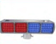 Solar Strobe Light - Red & Blue