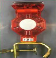 AB-SU150E Solar Warning Light