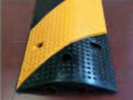 2 Channels Cable Protector Rubber Speed Hump