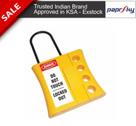 Electric Slider Hasp for 4 locks 3mm Shackle PS-LOTO-HASP-SLIDE3
