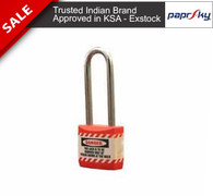 Economy lockout Padlock Red - 66MM