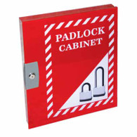 Padlock Cabinet for 42 Locks