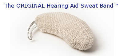 BUY your own ORIGINAL Hearing Aid Sweat Band™ - Protect Your Hearing Aid Investment