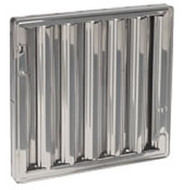 10 x 16 - Stainless Steel Hood Filter