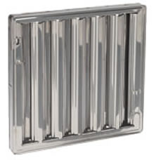 16 x 25 - Stainless Steel Hood Filter