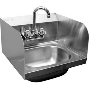 Standard Hand Sink with Splash Guards