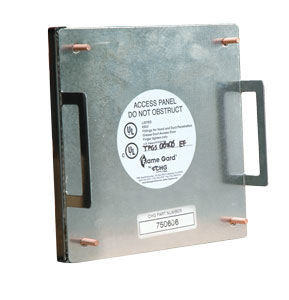 "7"" X 10"" Flame Gard Grease Duct Access Panel"